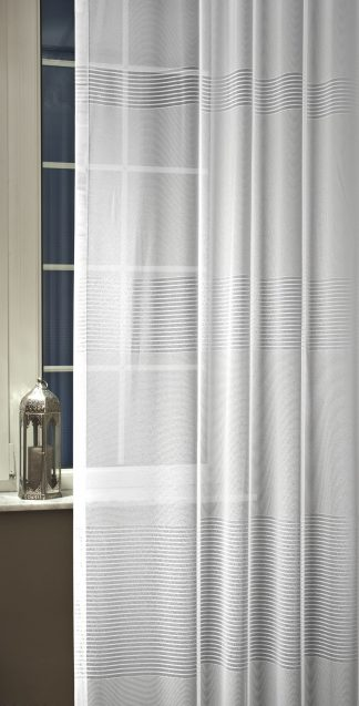 Dreher Sable Lisbeth fényáteresztő függöny - fehér