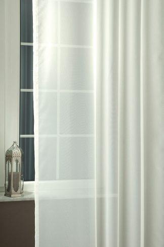 Ekrü voile fényáteresztő függöny