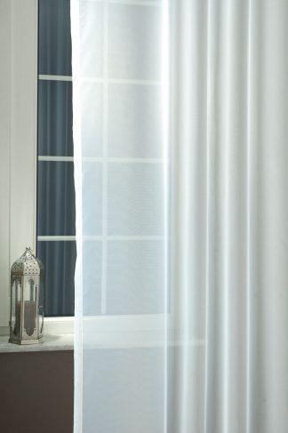 Fehér voile fényáteresztő függöny