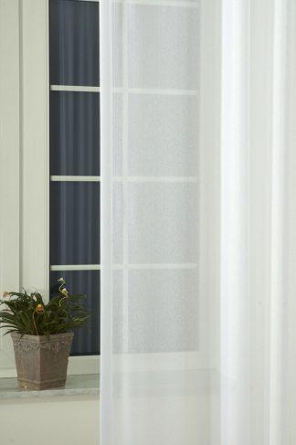 Fanni sable fényáteresztő függöny - fehér