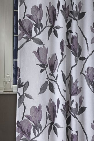 Flora sötétítő függöny - lila